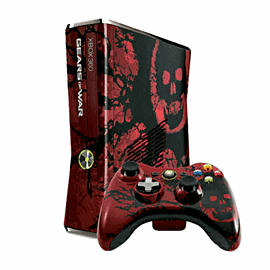 Xbox 360 320GB Gears of War 3 Limited Edition Console including Game Xbox 360 