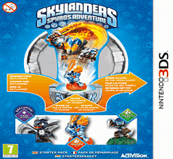 Skylanders: Spyro's Adventure 3DS Cover Art