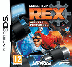 Generator Rex: Agent of Providence DSi and DS Lite Cover Art