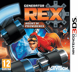 Generator Rex: Agent of Providence 3DS Cover Art