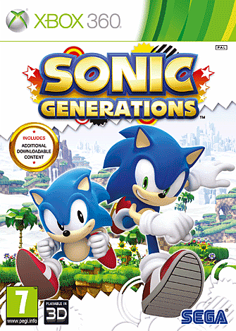 Sonic Generations on Xbox 360, PS3, PC and Wii at GAME