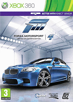 Forza Motorsport 4 Limited Edition Xbox 360 Cover Art