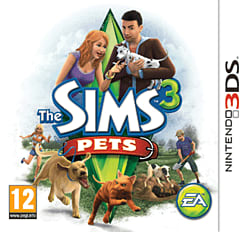 Sims 3: Pets 3DS Cover Art