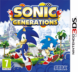 Sonic Generations 3DS Cover Art