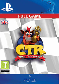 CTR: Crash Team Racing PlayStation Network Cover Art