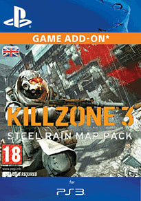 Killzone 3 Steel Rain Map Pack PlayStation Network Cover Art