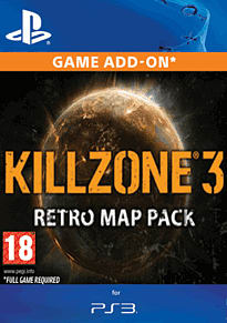Killzone 3 Retro Map Pack PlayStation Network Cover Art