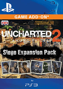 Uncharted 2: Among Thieves Siege Expansion Pack PlayStation Network Cover Art