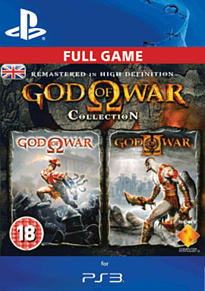 God of War HD Collection PlayStation Network Cover Art