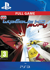 WipEout HD Fury: The Complete Pack PlayStation Network Cover Art