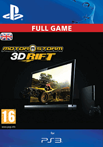 MotorStorm 3D Rift PlayStation Network Cover Art