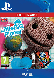 LittleBigPlanet PlayStation Network Cover Art