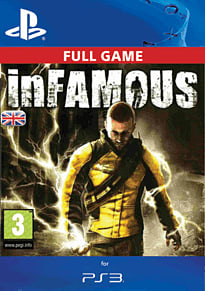 inFamous PlayStation Network Cover Art