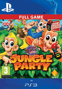 Buzz! Junior Jungle Party PlayStation Network Cover Art