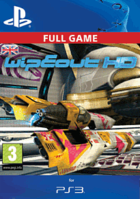WipEout HD PlayStation Network Cover Art