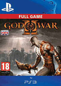 God of War II HD PlayStation Network Cover Art