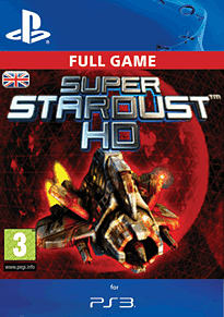 Super Stardust HD Complete PlayStation Network Cover Art