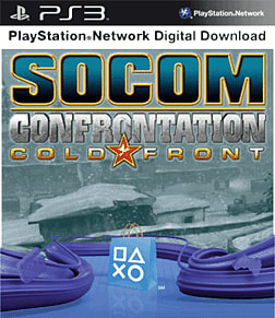 SOCOM: Confrontation Cold Front Pack PlayStation Network Cover Art