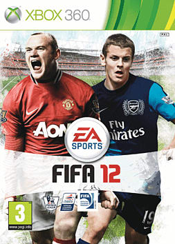 FIFA 12 Xbox 360 Cover Art