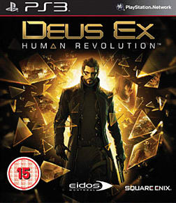 Deus Ex: Human Revolution Limited Edition Playstation 3 Cover Art