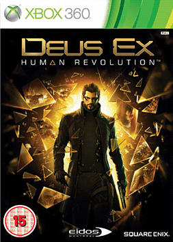 DEUS EX: Human Revolution Limited Edition Xbox 360 Cover Art