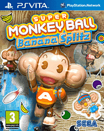 Super Monkey Ball Banana Splitz PS Vita Cover Art