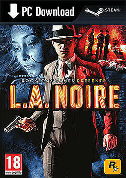 L.A Noire PC Games Cover Art