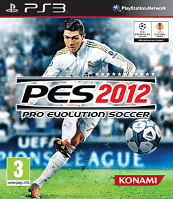 Pro Evolution Soccer 2012 Playstation 3 Cover Art