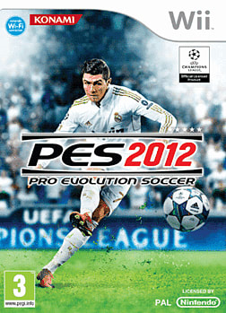 Pro Evolution Soccer 2012 Wii Cover Art