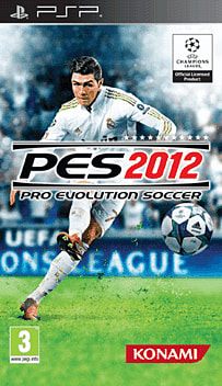 Pro Evolution Soccer 2012 PSP Cover Art