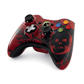 Gears of War 3 Xbox 360 Controller Accessories