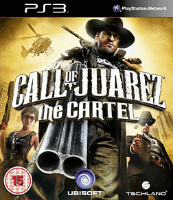 Call of Juarez: The Cartel Exclusive PlayStation 3 Cover Art