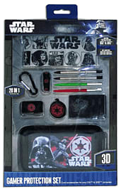 Darth Vader 3DS Protection Set (20 in 1) Accessories