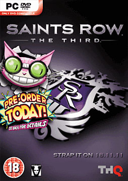 Saints Row the Third - Professor Genki Edition PC Games Cover Art
