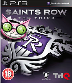 Saints Row the Third - Professor Genki Edition PlayStation 3 Cover Art