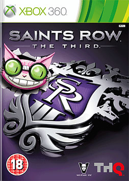 Saints Row the Third - Professor Genki Edition Xbox 360 Cover Art