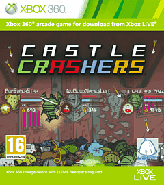 Castle Crashers Xbox Live Cover Art