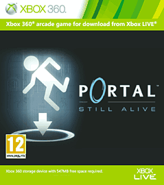 Portal: Still Alive Xbox Live Cover Art