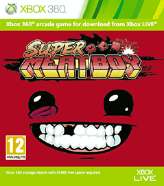 Super Meat Boy Xbox Live Cover Art