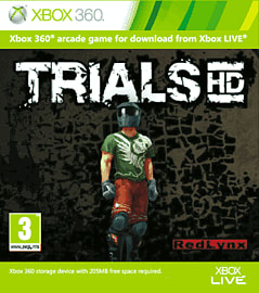 Trials HD Xbox Live Cover Art