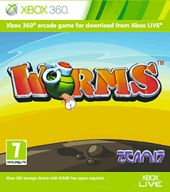 Worms Xbox Live Cover Art