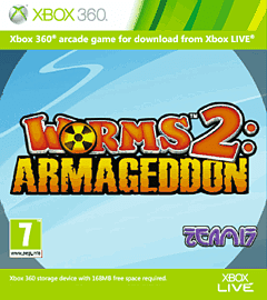 Worms 2: Armageddon Xbox Live Cover Art