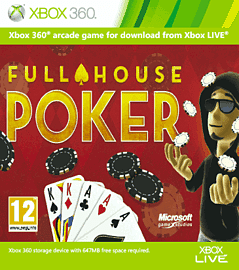 Full House Poker Xbox Live Cover Art