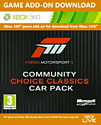 Forza 3 Community Choice Classics Pack Xbox Live