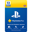 PlayStation Plus 12 Month Membership* PlayStation Network