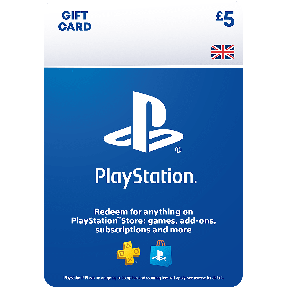 £5 PlayStation Network Wallet Top Up PlayStation Network Cover Art