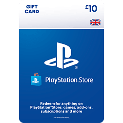£10 PlayStation Network Wallet Top Up PlayStation Network