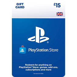 £15 PlayStation Network Wallet Top Up PlayStation Network