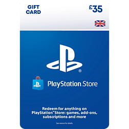 £35 PlayStation Network Wallet Top Up PlayStation Network