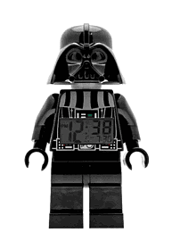 LEGO Star Wars Darth Vader Minifigure Clock Toys and Gadgets